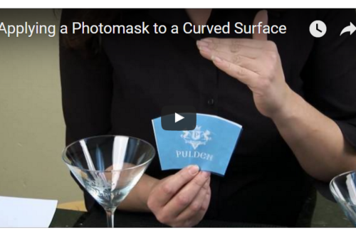 Video tutorials for preparing sandblasting stencils from photoresist film Rayzist photomask.