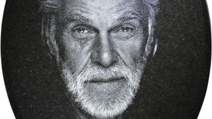 Pískovaný portrét