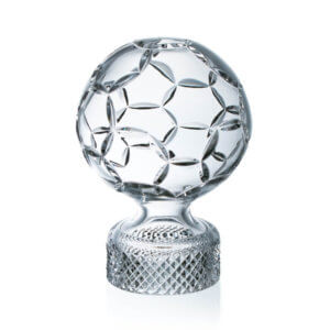 Football cup/trophy with area for sandblasting - height 21 cm